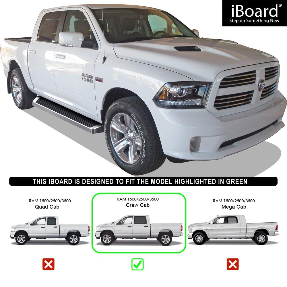 Star Armor Kit 2002 2009 Ram Quad Cab: 5 Most Liked Top Rated Nerf Bars For 2009-19 Dodge Ram