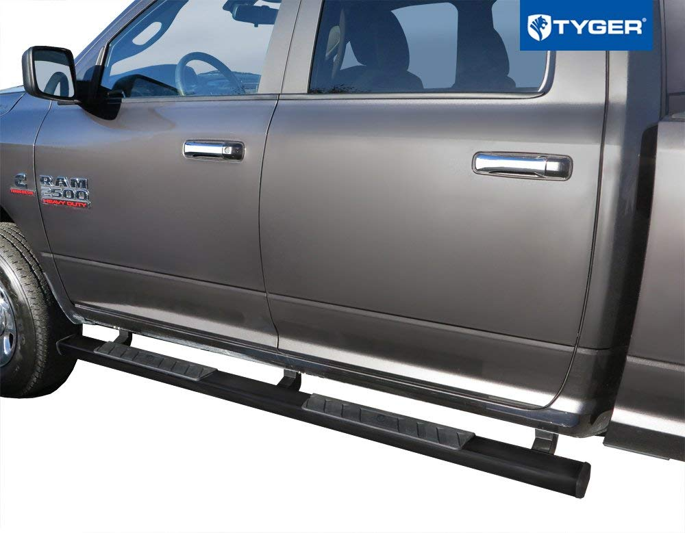 """FOR 2009-2018 RAM TRUCK 1500 QUAD 6/""""STAINLESS STEEL SIDE STEP BAR RUNNING BOARDS"""