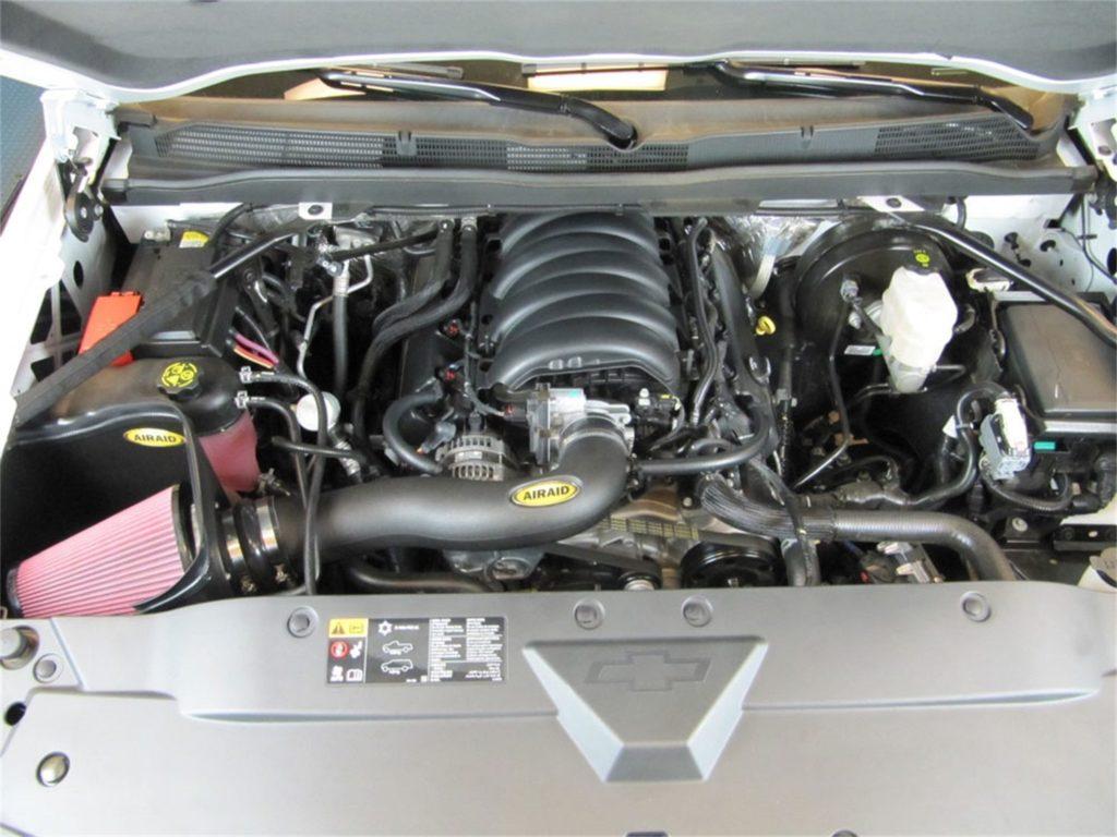 Airaid Jr Intake Kit 2014-18 Chevrolet GMC 5.3L V8 Sierra Yukon Oiled Red Media