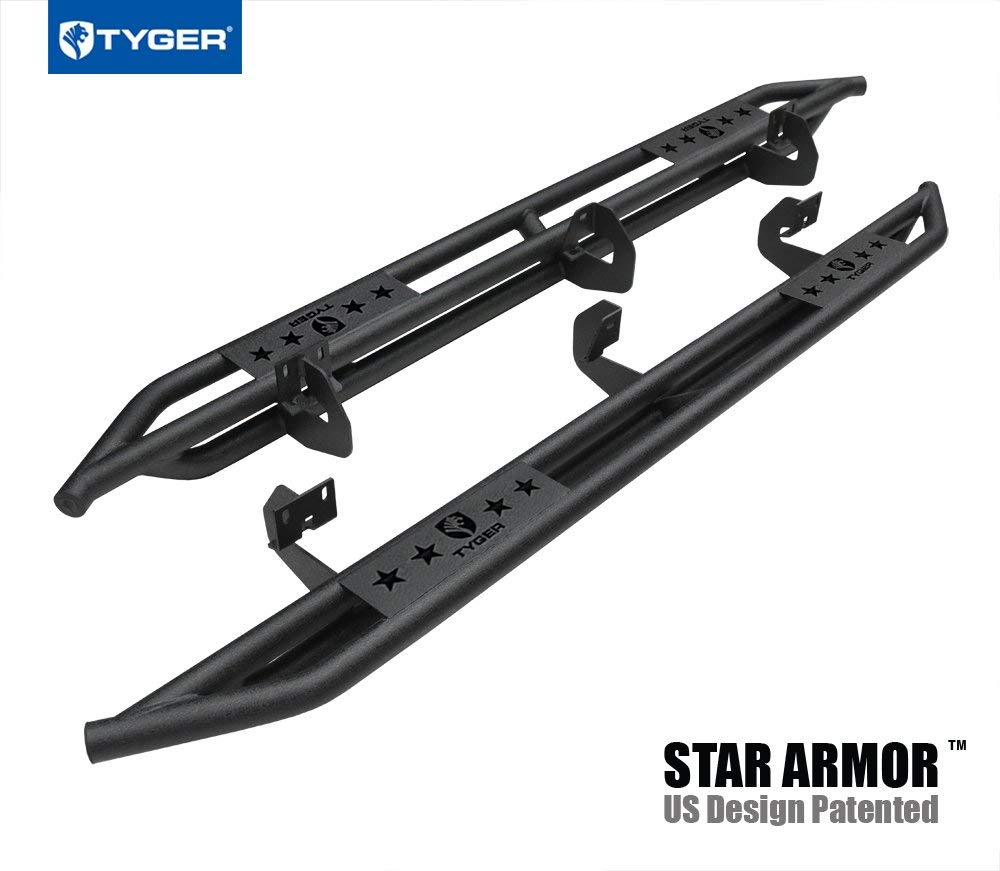 """fits 2015-2019 Ford F150 Regular Cab Nerf Bars Side Steps Ionic 3/"""" Stainless"""