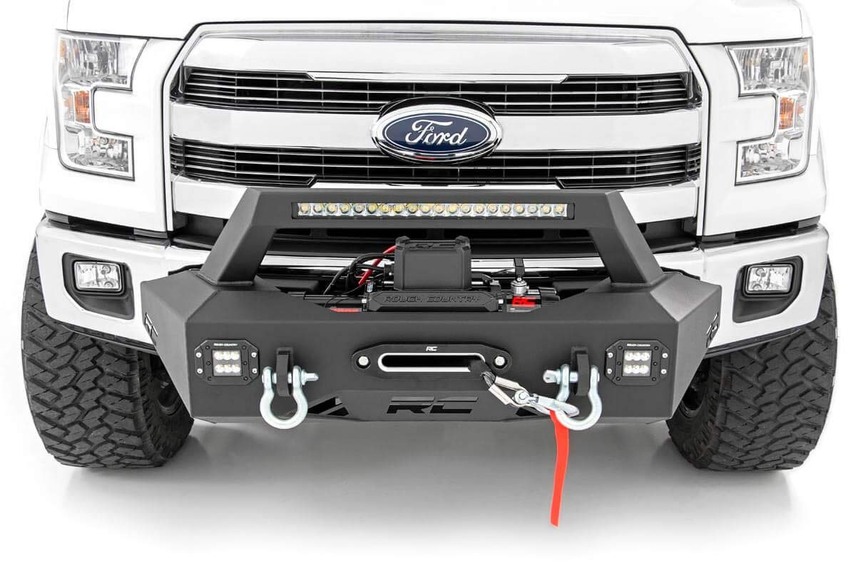 winch mount rough country exo system f150 ford 2009 ratings trucks enthusiasts