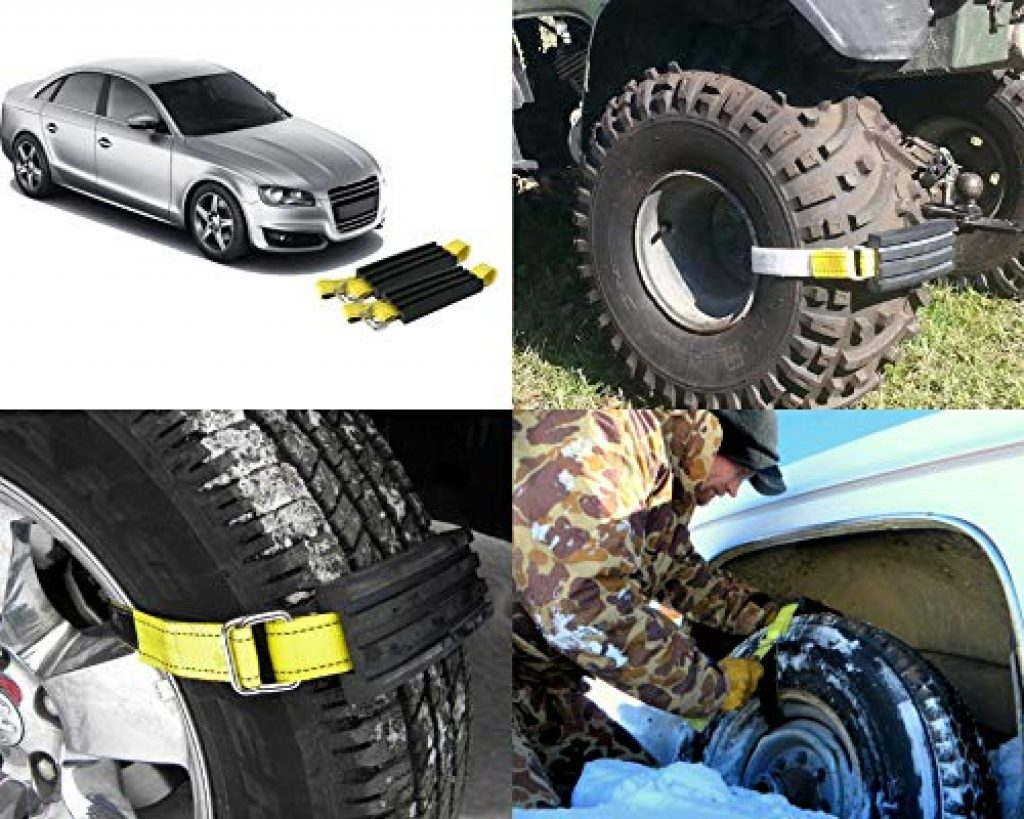 Anti-Skid Grabbers/ Cables- Alternate for Winter tires/Snow