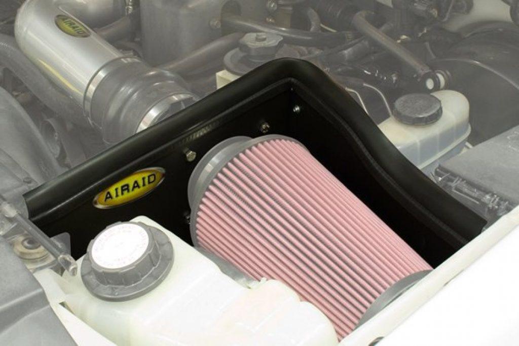 Heat Shield to protect Air Intake