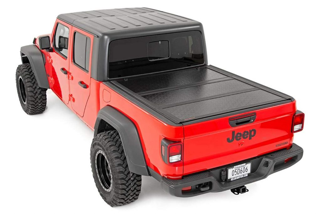Jt Tyger Auto Black 5 T5 Alloy Hardtop Truck Bed Tonneau Cover For 2020 Jeep Gladiator