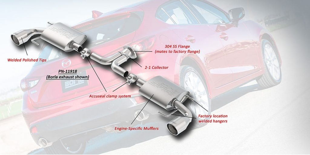 Axle Back Exhaust System