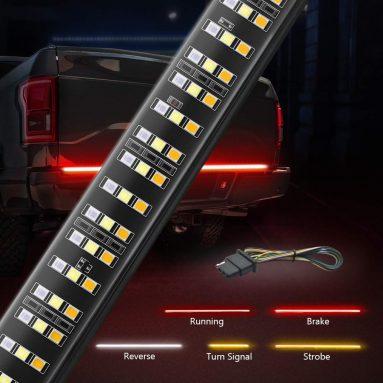 Triple Function Water-proof LED 60″ Tailgate Light, Turn, Brake & Reverse light