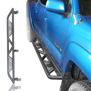 Get 10% off on Side Steps Nerf Bars for 2005-2020 Toyota Tacoma Double Cab 4-Door