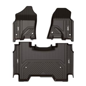 Best Floor Mats for 2019 Dodge RAM 1500 (New Models), 3W Floor Mats,Full-Crew Cab