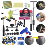 Auto Body Car Paint less Dent Removal Kit | 71 PCS PDR Tools Set