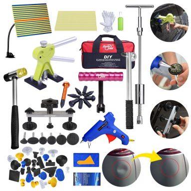 Auto Body Car Paint less Dent Removal Kit | 71 PCS PDR Tools Set