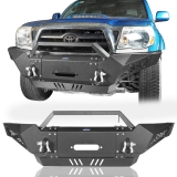 Get 10% off on Full Width Front Bumper w/Winch Plate for 2005-2015 Toyota Tacoma