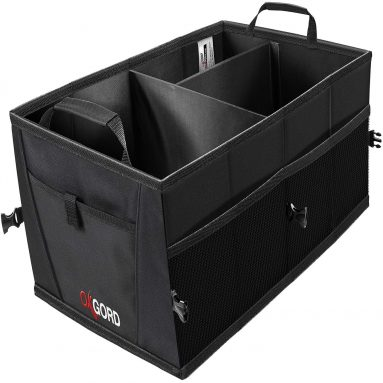 Trunk Organizer for Storage – Organizers Best for SUV Truck Van Auto Accessories