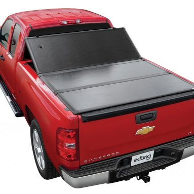 2014-18 GMC Sierra/ Chevy Silverado Tri-Fold Hard Tonneau Covers:5 Best Rated Tri-Fold Hard Bed Cover | Buying Guide