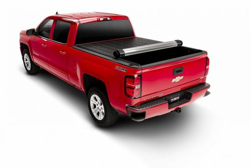 Best Value 4 Hard Folding Roll Up Tonneau Covers For Gmc Chevy Silverado 2500 Hd