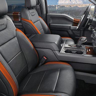 Ford Raptor Ecoboost Custom Seat Covers   Leather, Camo , Neoprene