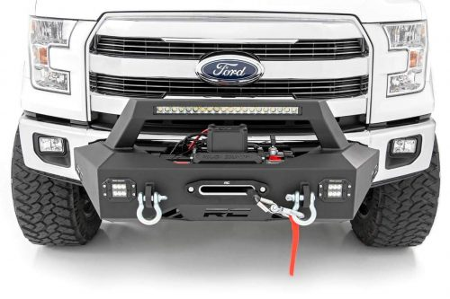 Ford Truck Enthusiast >> Rough Country Exo Winch Mount System Winch System For 09 18 Ford F