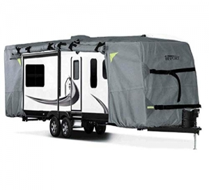 Heavy Duty Ripstop and Water Repellent RV Covers for Travel Trailer