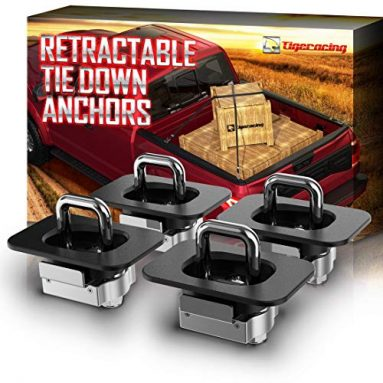 Tigeracing tie down anchors for all pickup trucks